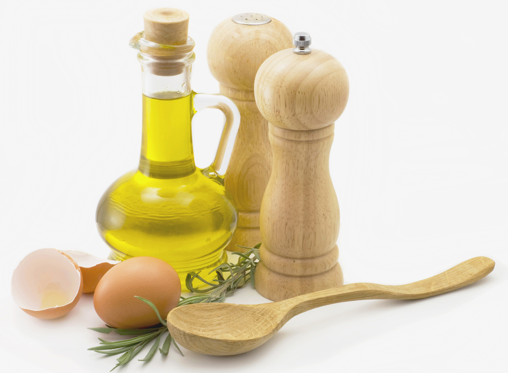 Egg with Olive Oil